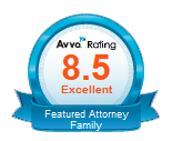 Mat Rueda Austin Family Divorce Lawyer Avvo badge